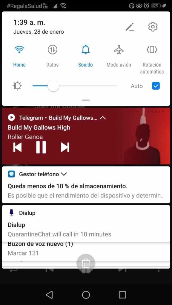 Reproductor de música Telegram