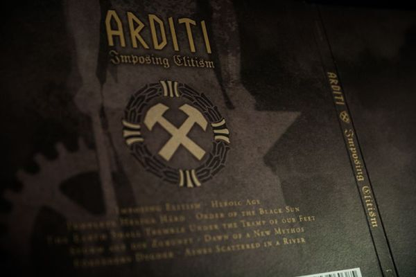 Imposing Elitism Digipak - Back cover detail