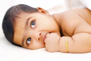 Hongersignalen van de baby