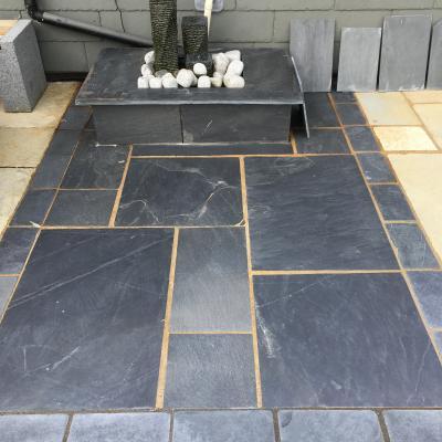 natural stone paving slabs in slate