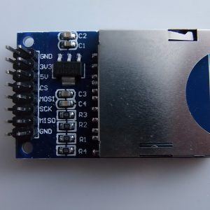 Scheda SD Modulo Slot Socket Lettore per Arduino ARM MCU