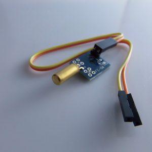 Tilt Sensore con un piccolo plate contains a piccolo PCB board arduino