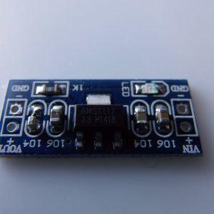 Modulo di Alimentazione 3.3V AMS1117-3.3V fixed regulated output- input 4.5 ~ 7V 3.3V output