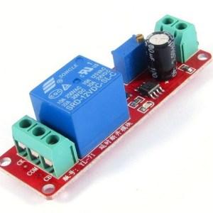 NE555 delay Modulo, monostable Pulsante, delay Pulsante-delay (12V) automobile Elettricoal delay