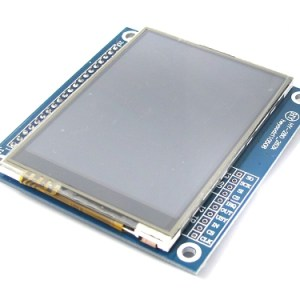 2.8-inch TFT LCD Modulo, ili9325, with Scheda SD Connettore, touch IC to send the touch pen