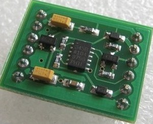 ADXL345 Modulo, triaxial Digitale Modulo of the inclination angle, gravity angle Sensore