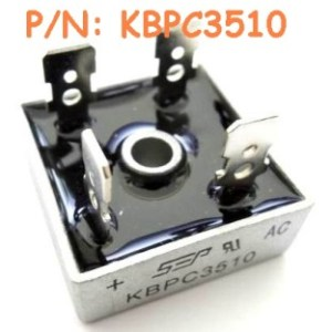 2 Pezzi KBPC3510 IC Circuiti Integrati