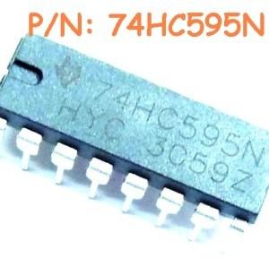 6 Pezzi 74HC595N IC Circuiti Integrati