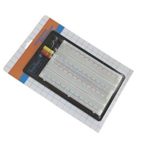 ZY-204 1660 holes combination of solderless breadboard / the experimental board / board 166x108mm