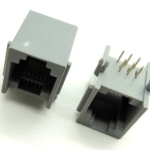 2 Pezzi Phone jack, RJ11 sockets, 6P telephone socket MODEM