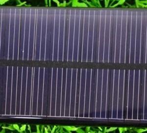 Solar panels 60 * 55mm 2V 190mA 0.38W