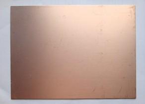 Single Side Fiberglass PCB board 10*15cm