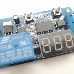 LED Digitale Display Cycle Time Delay Modulo 12V