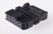 2 Pezzi 10 Position 2.0MM Pitch Femmina IDC Socket Flat Ribbon Cavo Connettore FC-10P