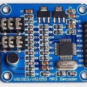 VS1003B Mp3 Decoding Modulo Scheda di Sviluppo Stm32 Contains Microfono