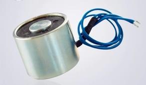 Suction-cup dc electromagnet P25/20 tiny electromagnet suction chuck Voltaggio 12 v / 24 v 5 kg