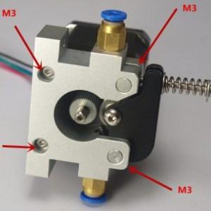 3D Printer Reprap Kossel Prusa Bowden42 Stepper Motore Full-Metal Remote Estrusore