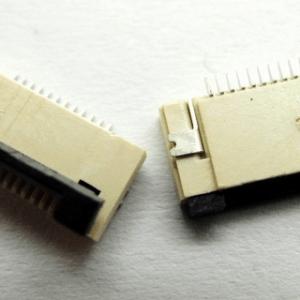 2 Pezzi FFC/FPC socket 12P Clamshell