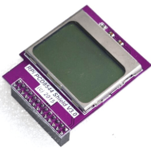 CPU Memory Mini Schermo Modulo 84 x 48 PCD8544 Matrix LCD Shield w/ Backlight for Raspberry Pi