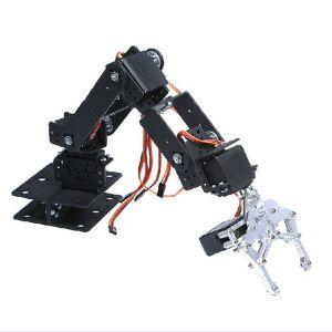 6 DOF three-dimensional rotating mechanical arm