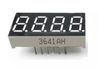 4 Digit 7 Segment LED Common Catode