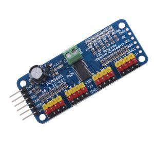 16 Canali 12-bit PWM/Servo Drive shield Modulo I2C PCA9685 per Arduino NEW