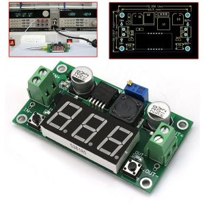 LM2596 Step-Down Voltaggio Regolatore Modulo Board With LED Display
