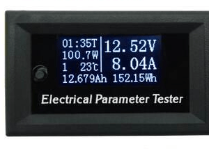 Electronical Parameter Tester 33V 10A 0.96inch OLED