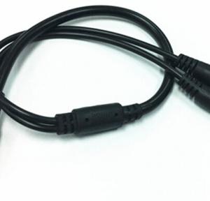 DC Power Cavo 5.5x2.1mm Femmina 1 to 2 Maschio Plug