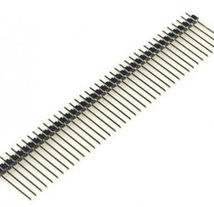 4 Pezzi 17MM 1*40PIN 2.54mm Header Pin Maschio
