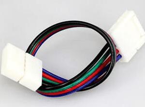 LED 5050 3528 RGB 4P 10CM Connettore Cavo