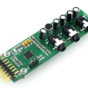 UDA1380 Board Stereo MD CD Mp3 Audio Codec Coder Decoder Modulo I2S Interfaccia Development Modulo Kit