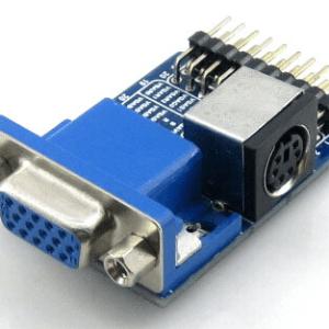 VGA PS2 Board Accessory Test Modulo with VGA + PS2 + Control Connettore Interfaccias for Testing VGA PS2 Interfaccia