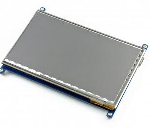 7inch HDMI LCD (C), 1024x600, IPS, supports various systems