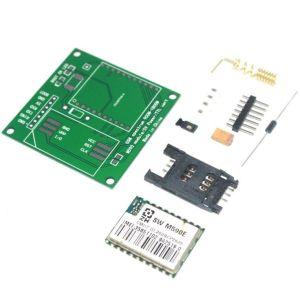 M590E GSM GPRS Function Modulo DIY Kits M590 GSM GPRS 900m-1800m SMS CPU MCU Test