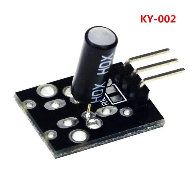 KY-002 SW-18015P Module capteur vibrations Pour Arduino 2Pcs