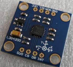 Modulo sensore giroscopio digitale asse GY-50 L3G4200D modulo velocità angolare Arduino