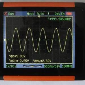 Oscilloscopio tascabile QDSO Larghezza di banda 40M Frequenza di campionamento 200M con display da 3,5 pollici (OS-QDSO)