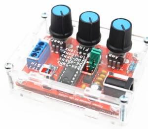 XR2206 Generatore di segnali di funzione Kit fai-da-te Sine Square Output 1HZ-1MHZ