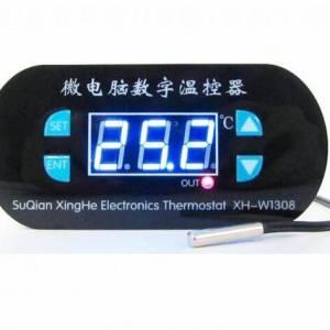 XH-W1308 W1308 Sensore di calore freddo digitale regolabile Display rosso Regolatore di temperatura Interruttore termostato DC 1