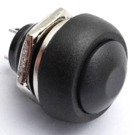 PBS-33B / Nero 12mm Bottone / Nero 12mm Nessun interruttore autobloccante
