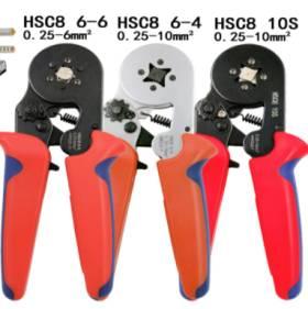 Pinza a crimpare HSC8 6-4A (0,25-6mm2)