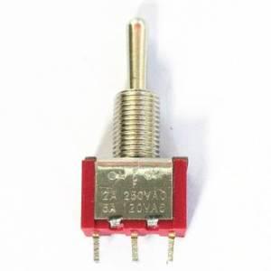 Interruttore a levetta rosso MTS-103 3 piedi 3 apertura file 6MM ON-OFF-ON