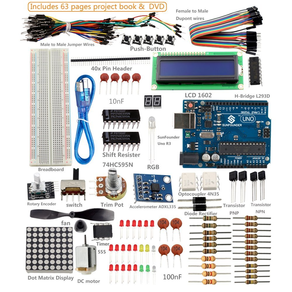 List of best arduino starter kits reviewed and compared