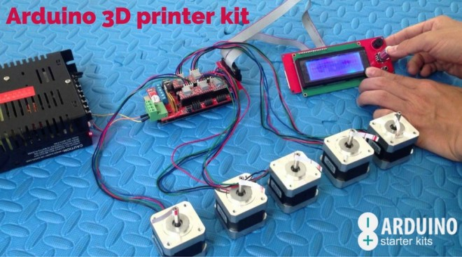 Arduino 3D printer kit