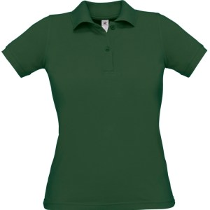 Mix Fabric Polo Shirt