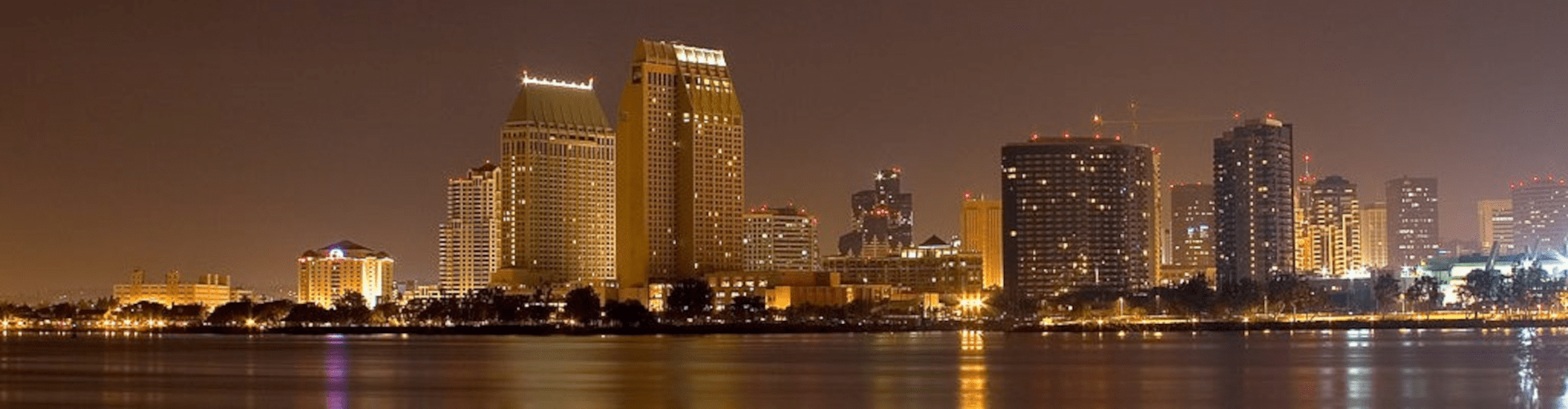 SD city at night