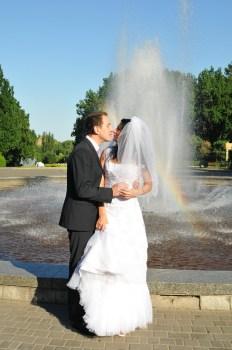 Заказная радуга. Свадебная фотография Автор свадебный фотограф Сергей Рыжков