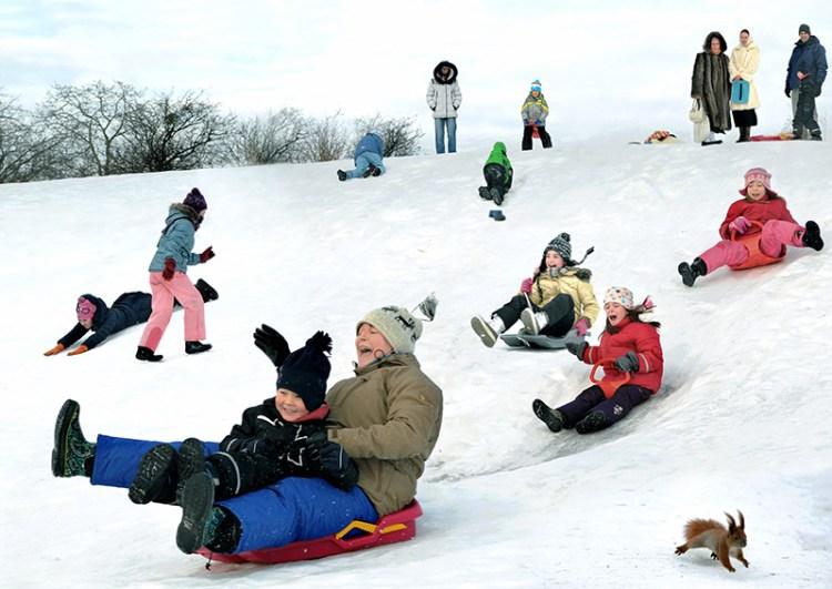 фотосессия, дети, Киев, зима, 2012, профессиональный фотограф