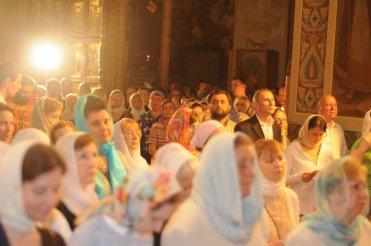 Фоторепортаж из Свято-Троицкого Ионинского монастыря о праздновании Светлого праздника Пасхи 11